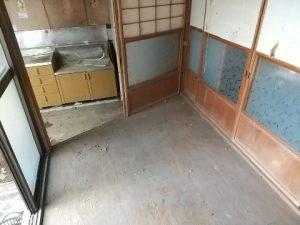 空き家片付け後2